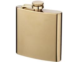 Nerezová butylka STANTON v pozlaceném provedení, 175 ml - zlatá