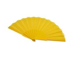 Polyesterový skládací vějíř SAID - žlutá