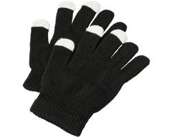 Zimní rukavice BRIMS pro ovládání dotykových obrazovek - černá