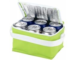 Chladicí taška GRATA, pro 6 plechovek - zelená