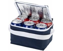 Chladicí taška GRATA, pro 6 plechovek - námořní modrá