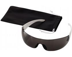 Sportovní sluneční brýle YACC s pouzdrem - černá / bílá