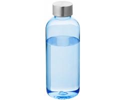 Láhev na pití CTRL s bajonetovým uzávěrem, 600 ml - transparentní modrá