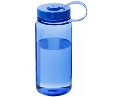 Průhledná láhev na pití APPLY, 650 ml - transparentní modrá