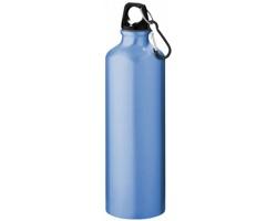 Hliníková láhev na pití WREN s karabinkou, 770 ml - světle modrá
