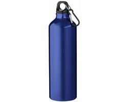 Hliníková láhev na pití WREN s karabinkou, 770 ml - modrá