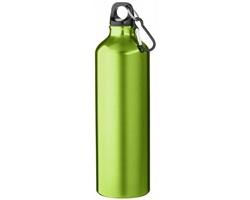 Hliníková láhev na pití WREN s karabinkou, 770 ml - zelená