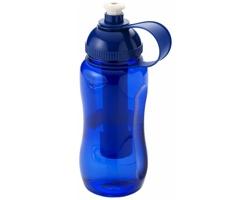 Plastová láhev na pití COLDY 500 ml s chlazením - modrá