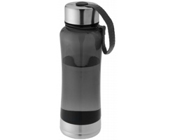 Sportovní tritanová láhev ASPI s bajonetovým uzávěrem, BPA free, 500 ml - stříbrná