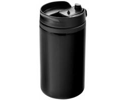 Nerezový termohrnek NEWT, 300 ml - černá