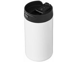 Nerezový termohrnek NEWT, 300 ml - bílá