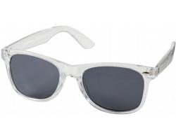 Plastové retro sluneční brýle ICTUS - transparentní čirá