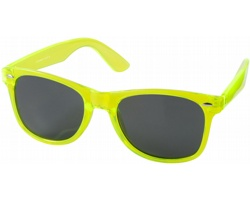 Plastové retro sluneční brýle ICTUS - jemně zelená