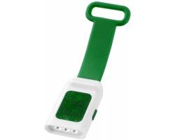 Venkovní odrazka RAISE s LED svítilnou - zelená / bílá