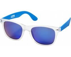 Trendy sluneční brýle US Basic CALIFORNIA - modrá / transparentní