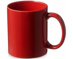 Keramický hrnek SANTOS, 330 ml - červená