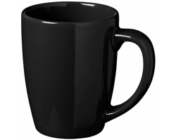 Keramický hrnek FOIL, 350 ml - černá