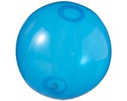 Průhledný nafukovací míč ALLOY - transparentní modrá