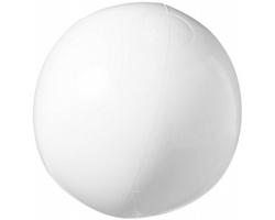 Pevný plážový nafukovací míč SULKS - bílá