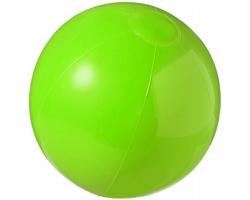 Pevný plážový nafukovací míč SULKS - zelená
