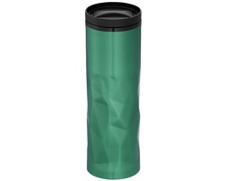 Termoska se zmačkaným vzhledem NODUS, 450 ml - zelená