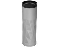 Termoska se zmačkaným vzhledem NODUS, 450 ml - stříbrná