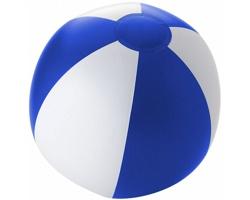 Nafukovací plážový míč PODGE - královská modrá / bílá