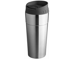 Nerezový termohrnek FREY, 500 ml - stříbrná