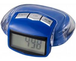 Krokoměr DOUR s klipem na opasek - modrá