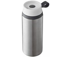 Nerezová vodotěsná termoska FUGGY, 350 ml - stříbrná