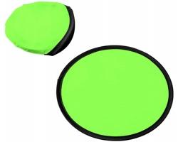 Polyesterové skládací frisbee SCOOP - jemně zelená