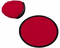 Polyesterové skládací frisbee SCOOP - červená