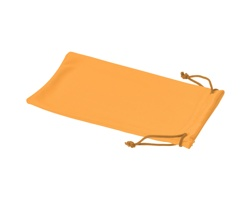 Polyesterový sáček na sluneční brýle INTERNE - neonově oranžová