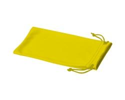 Polyesterový sáček na sluneční brýle INTERNE - žlutá