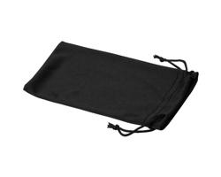 Polyesterový sáček na sluneční brýle INTERNE - černá