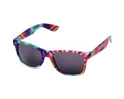 Plastové sluneční brýle OPTIONAL s batikovým motivem - vícebarevná