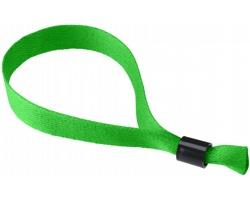 Polyesterový festivalový  náramek FESTINO - zelená