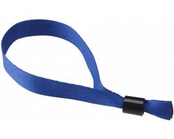 Polyesterový festivalový  náramek FESTINO - královská modrá