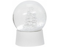Skleněná sněhová koule AIMER - bílá