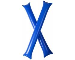 Nafukovací fandicí tyče TUSKEGEE pro sportovní fanoušky, 2 ks - královská modrá