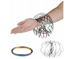 Nerezové antistresové náramky PHEW se stahovacím sáčkem - vícebarevná
