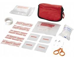 Cestovní sada první pomoci AUDREY s 19 doplňky - červená