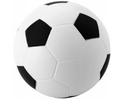 Antistresový fotbalový míček MURANO - černá / bílá