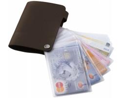 Pouzdro na platební karty SEING - hnědá