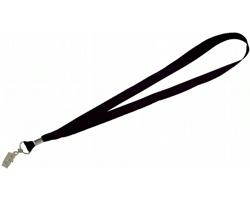 Visačka na jmenovku SPOOL s plechovou sponkou - černá