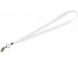 Visačka na jmenovku SPOOL s plechovou sponkou - bílá