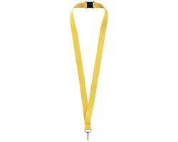 Lanyard pro zavěšení jmenovky nebo ID karty ROAMS - žlutá