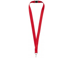 Lanyard pro zavěšení jmenovky nebo ID karty ROAMS - červená