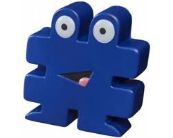 Pěnová antistresová pomůcka GENT tvaru hashtagu - modrá