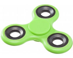 Plastový kapesní spinner FAITHS pro odbourání stresu - jemně zelená